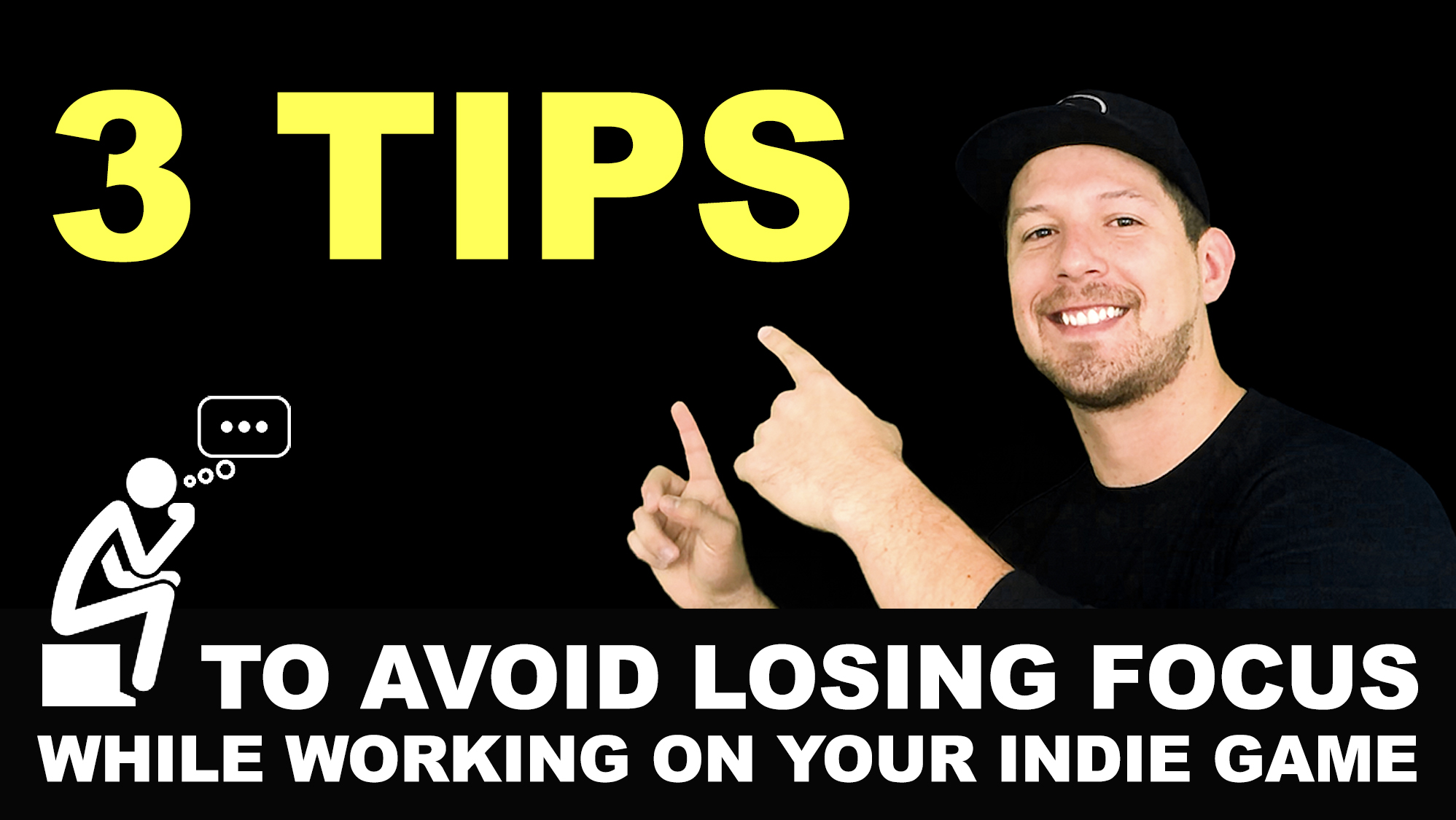 3 tips to avoid losing focus while working on your indie game