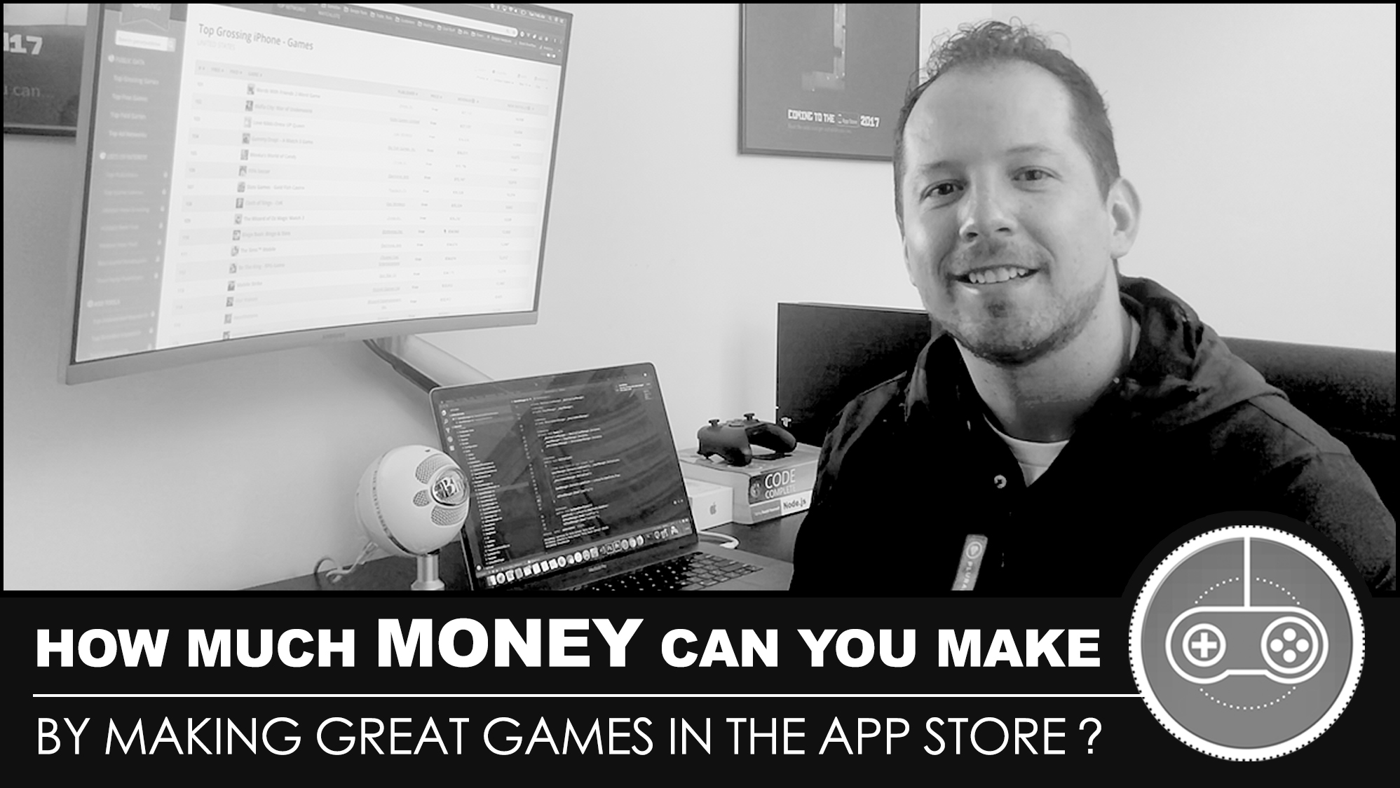How much money can you make by making great games in the App Store?
