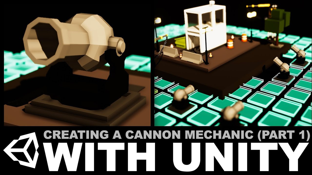 Creating a cannon mechanic with MayaLT and Unity3d - Part 1