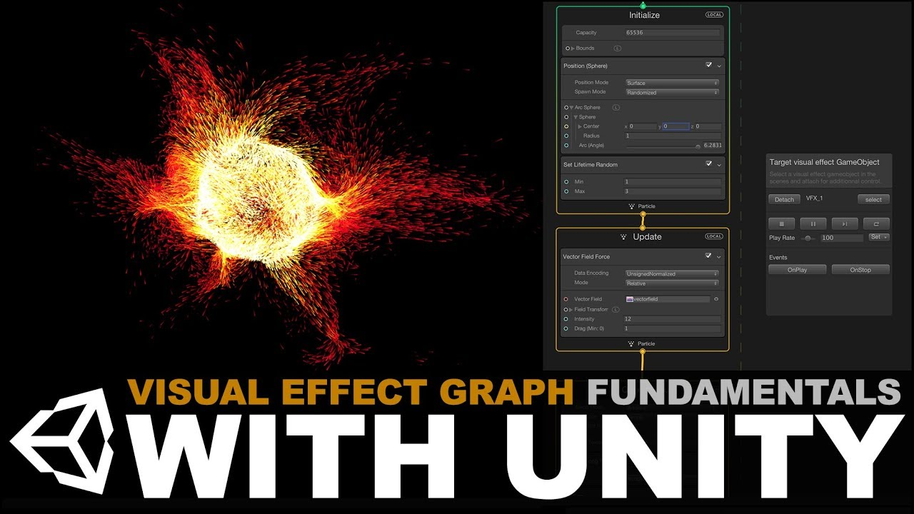 Unity3d Visual Effect Graph Essentials