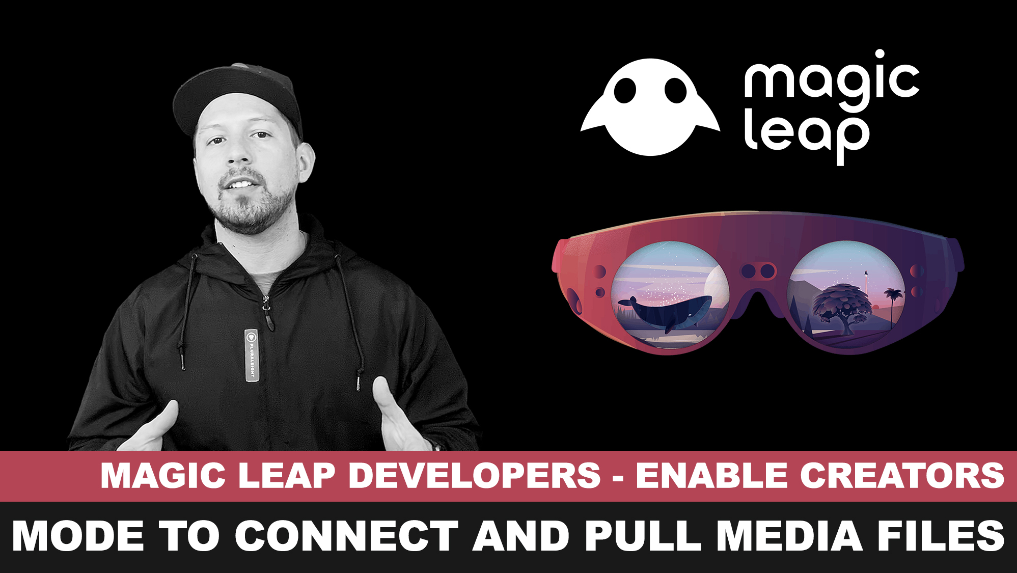 Magic Leap SDK - Enable Creators Mode and Pulling media files with MLDB tool